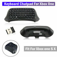 Game Headset Headphone Adapter Keyboard Chatpad For Xbox One S X Controller