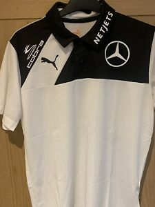 Puma Golf Shirt Polo Cobra Netjets Mercedes PGA Dechambeau Fowler Galvin Green