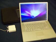 "Mac Apple PowerBook G4 Laptop Computer Vtg 1 GB RAM 1.67 GHZ 15"" AS IS / PARTS"