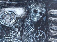 Bruce Onobrakpeya signed deep etching ~ 1973