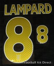 England Lampard 8 2006/2008 Football Shirt Name Set Away Sporting ID