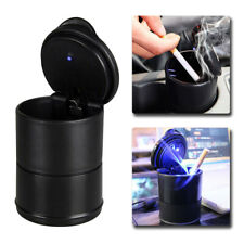 Universal Car Auto Accessories illuminated Ashtray Ash Bin Led Light Easy Clean