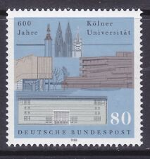 Germany 1555 MNH 1988 Cologne University - 600th Anniversary Issue VF