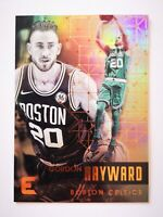 Panini Essentials 2017-18 card carte NBA Boston Celtics #66 Gordon Hayward