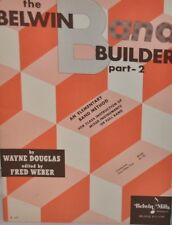 """THE BELWIN BAND BUILDER"" PART 2 MUSIC BOOK-FOR FLUTE-BRAND NEW ON SALE-RARE!!"