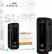 ARRIS SBG10 SURFboard  AC1600 Dual-Band Cable Modem  Router - Black‼️