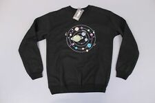 KOKOPIE Unisex Solar System Embroidered Sweatshirt SV3 Black Medium NWT