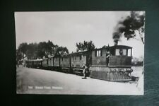 More details for wisbech  steam train real photo postcard