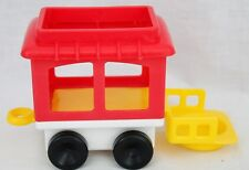 Fisher Price Little People 1991 Chucky Zoo Circus Train Red Caboose Replacement