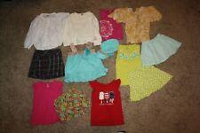 Lot Of 13 Girls Clothing Size 6 Gymboree Shirts Skirts Shorts Summer Hat Tank