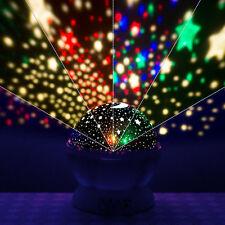 Étoile Projecteur Enfants Romantique Nuit Ciel LED Lampe Chambre Veilleuses Noël