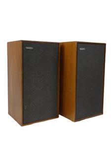 Celestion C Hi-Fi stereo speakers brown vintage retro 25W 4-8ohms