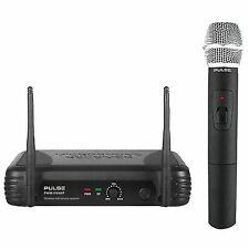 Pulse Pwm100vhf-hh Handheld Wireless Microphone System. Next Working Day