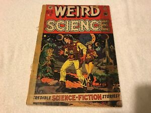 WEIRD SCIENCE 10  Entertaining Comic EC  1951  comic book