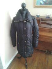 GUESS Women's Black Puffer Full Zip Winter Jacket Coat Turtleneck Large