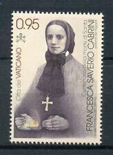 Vatican City 2017 MNH Frances Xavier Mother Cabrini 1v Set Religion Stamps