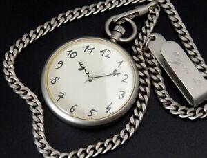 Working Agnes b Quartz 37mm Pocket Watch V721-0010 reloj uhr montre orologio