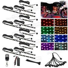 12xLED Motorcycle Accent Engine Ground Wheel Light Kit for Harley Davidson 72LED