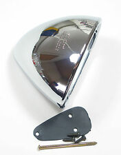 Original Vitaloni Mach-1 rear view mirror, chromed , Porsche, Ferrari, Lancia