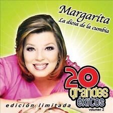 FREE US SHIP. on ANY 3+ CDs! ~Used,Good CD Margarita La Diosa De La Cumbia: 20 G