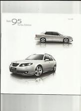 SAAB 95 Turbo Edition 2.0 T, 2.3 T, 1.9TiD e 1.3 T Saloon & Estate vendita OPUSCOLO 2008