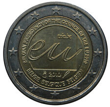 2 EURO Belgio 2010 - Presidenza Europea
