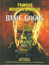 Rare Famous Monster Movie Art of Basil Gogos Signed SDCC Exclusive Hardcover HC