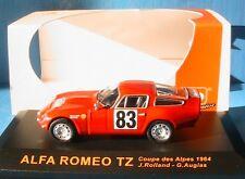 ALFA ROMEO TZ #83 COUPE DES ALPES 1964 ROLLAND AUGIAS IXO JUNIOR CIXJ000024 1/43