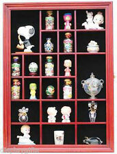 Wall Mounted Thimble Display Case Shadow Box Cabinet, with Door, TC02B-CHE