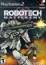 Robotech Battlecry, Good PlayStation2,Playstation 2 Video Games