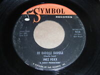 Inez Foxx: Hi Diddle Diddle / Talk With Me 45 - Soul