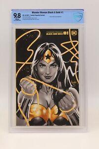 Wonder Woman Black & Gold (2021) #1 Jen Bartel CBCS 9.8 Blue Label White Pages