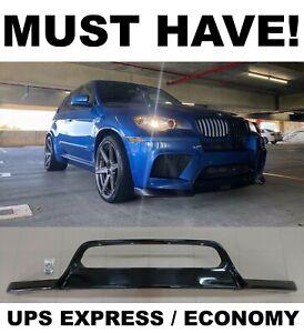 Front Bumper Lip Spoiler Diffuser splitter pad Fit for BMW E70 X5M 2010-2014