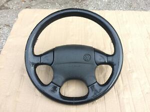 VW Volkswagen Golf Mk3 Jetta Mk3 Passat B4 OEM Euro Leather Steering Wheel