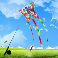 Outdoor Kites Butterfly Flying Kite Toys Fun Sports Game Gift Children Kids、