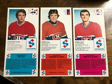 1982-83 MONTREAL CANADIENS STEINBERG HOCKEY CARDS 21 card lot  WITH COUPONS