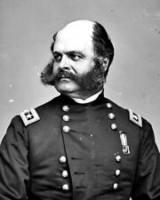 New 8x10 Civil War Photo: Union - Federal General Ambrose Burnside