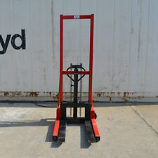 Hand Pump Lift Trucks Manual Forklifts Pallet Walkie Stackers Fork 63lift 1t