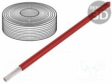 Wire; SiF; stranded; Cu; 10mm2; silicone; red; -60÷180°C; 500V; 25m [5 meters]