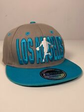 Los Angeles KB Ethos Snapback Baseball Cap Hat Premium Headwear