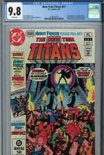 New Teen Titans #21 CGC 9.8 1st Appearance of Brother Blood