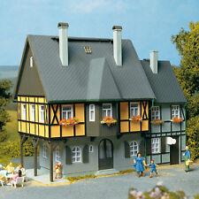 AUHAGEN 12343 - H0/TT - Kit Home BAHNHOF STREET 1 - New Original Packaging