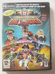68887 - Freedom Force Vs The 3rd Reich [NEW / SEALED] - PC (2005) Windows XP