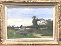 Eugene Galien Laloue (1854-1941) River Landscape Painting