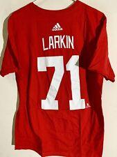 Adidas  NHL T-Shirt Detroit Red Wings Dylan Larkin Red sz S