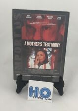 De La Madre testimony - Cine independiente US - PAL - DVD - NUEVO