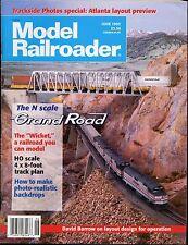 MODEL RAILROADER VOL. 62 NO.6 JUNE 1995 COND: VG MODEL TRAIN MAGAZINE