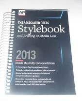 AP The Associated Press STYLEBOOK and Briefing on Media Law 48th ed. 2013 NEW