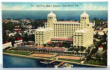 Postkarte 1952 - THE PALM BEACH BILTMORE, Florida