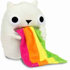 Exploding Kittens Collectable Plush Toy Rainbow Ralphing Cat with Bonus Card